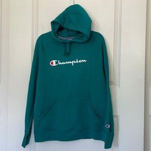 🆕 Champion Teal Logo Sweatshirt